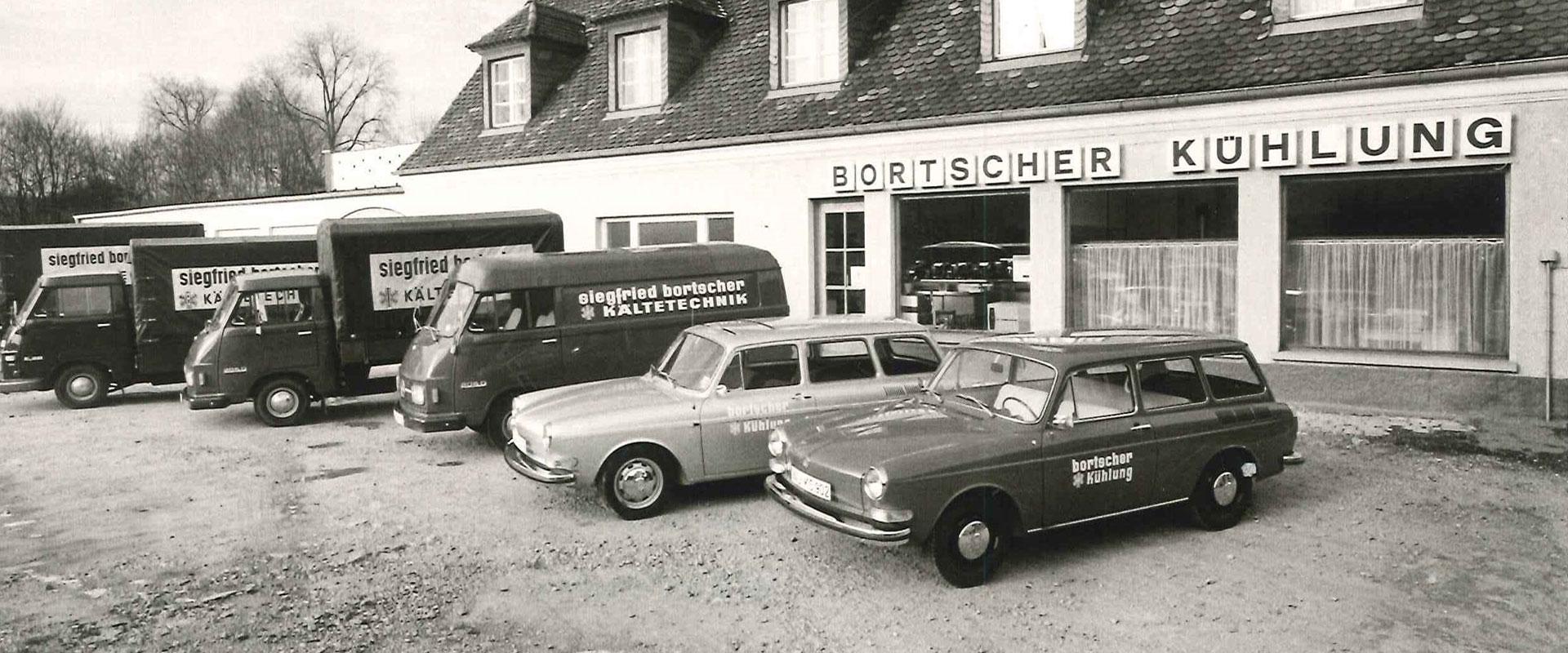 Unternehmen und Historie - Siegfried Bortscher GmbH